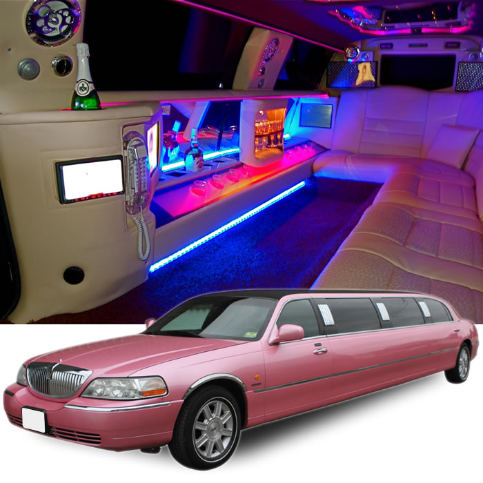 Lincoln Town Car Pink Uk Limos